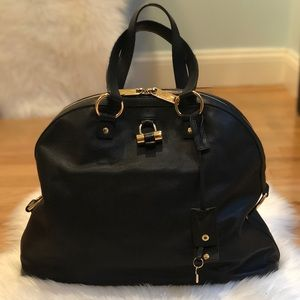 Saint Laurent Muse Dome Satchel